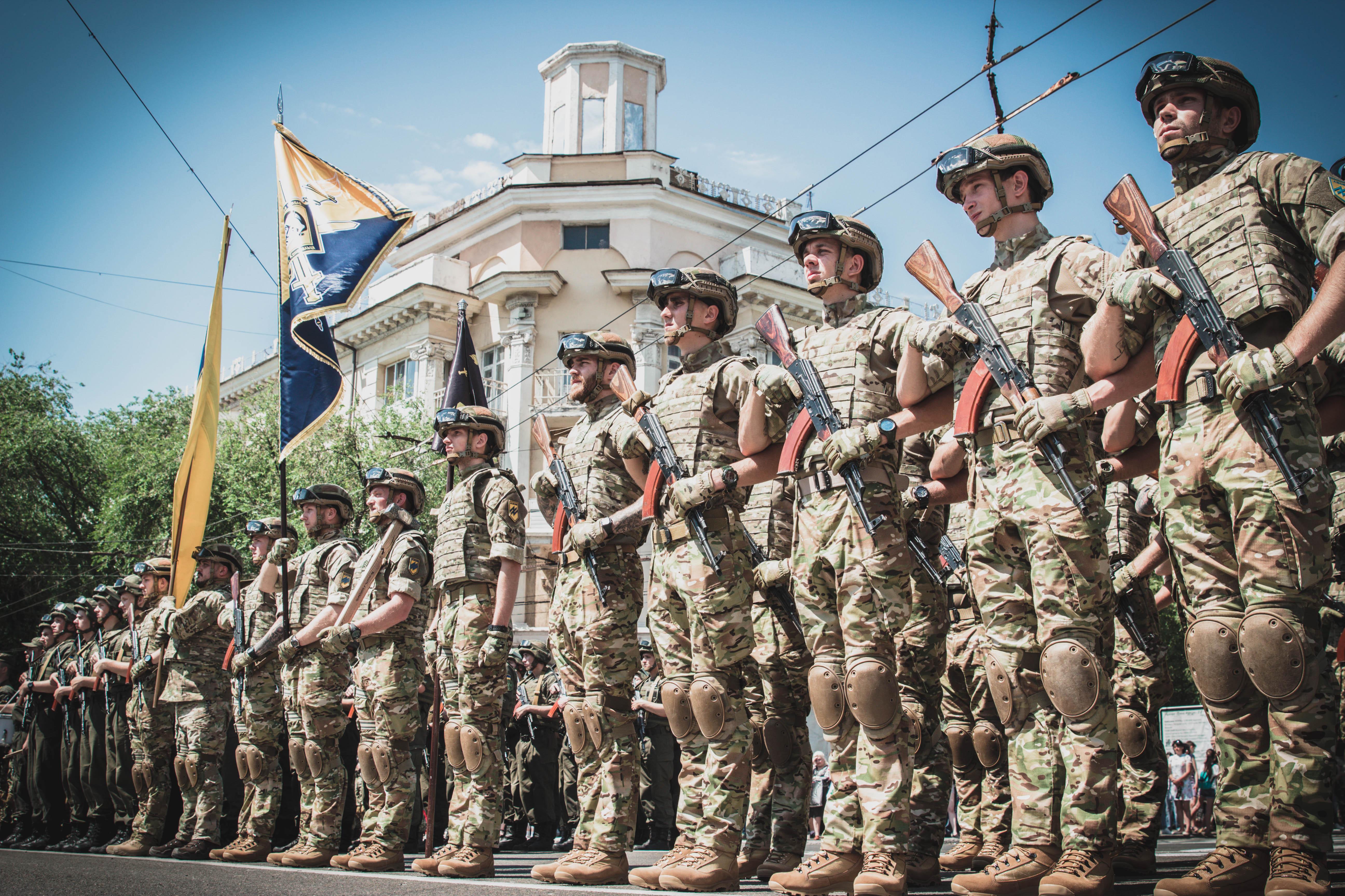 АЗОВ, военная школа АЗОВ