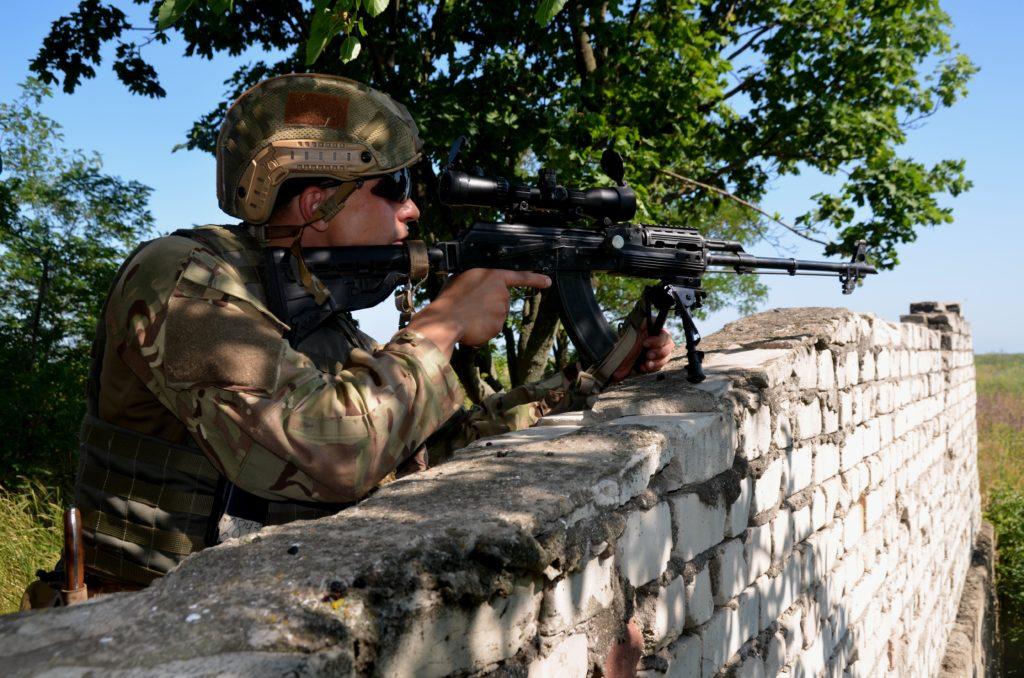 Азовці під час навчань із протидесантної оборони