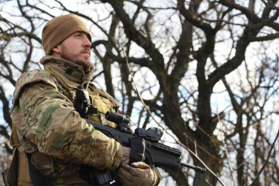 командира 2-го Піхотного Батальйону Полку АЗОВ Кірт
