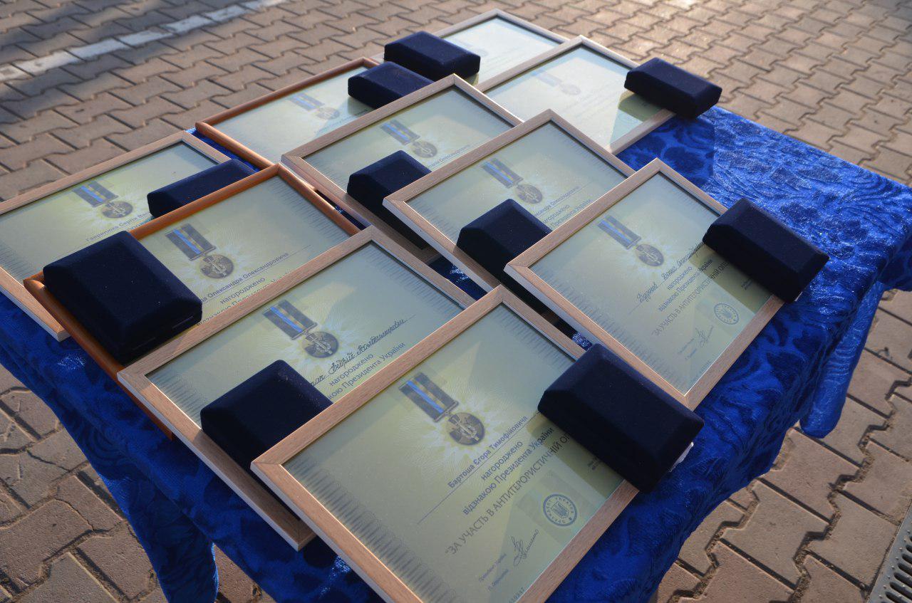 Нагородження бійців АЗОВу президентськими відзнаками