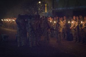 Бойове братство полку «Азов» попрощалось із загиблим другом Барретом