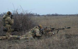 Планові польові навчання 1-ї роти 2-го батальйону полку АЗОВ