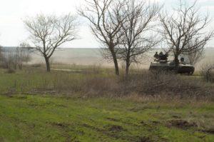 Азовці з 1-ї роти 2-го батальйону відпрацювали дії взводу у наступі