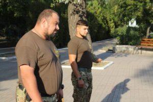 Азовці вшанували пам'ять загиблих під Іловайськом захисників України