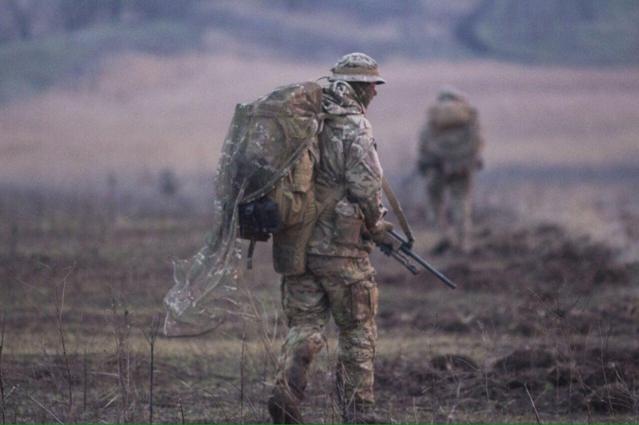 курс підготовки снайперів АЗОВ
