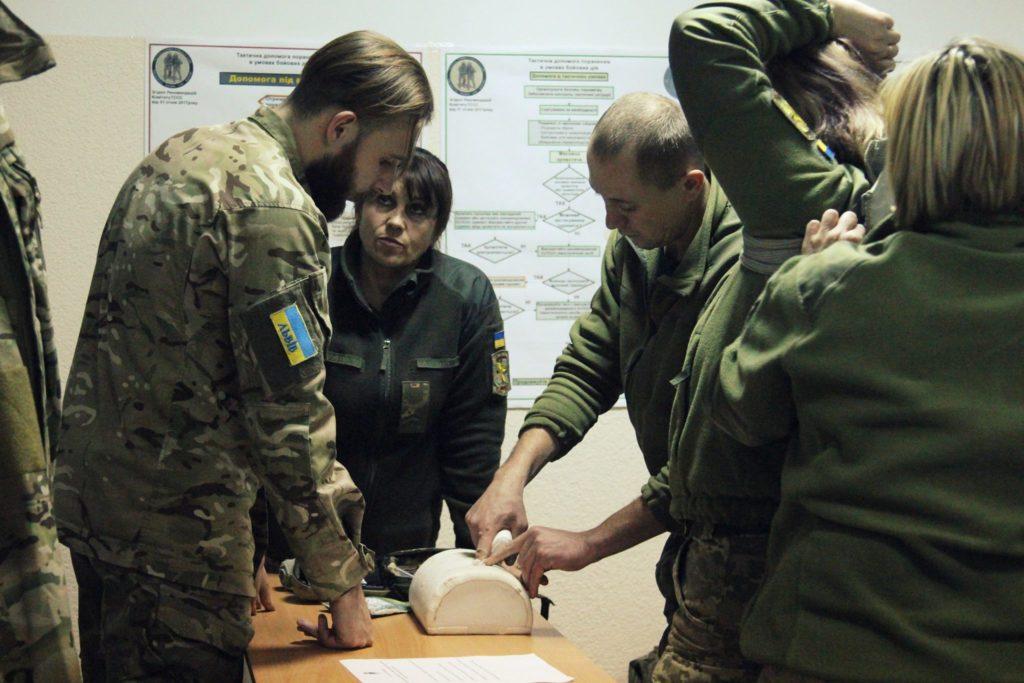 АЗОВ курс TCCC All Combatants