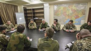 Полк АЗОВ відвідала багатонаціональна група військових спостерігачів