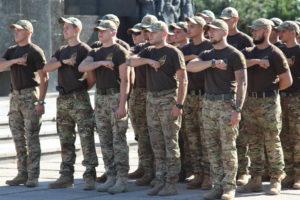 Азовці взяли участь у заході з нагоди Дня Державного прапора України