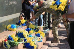 27 років Незалежності України. Полк АЗОВ вітає українців зі святом!