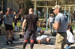 Полк АЗОВ. Memorial CrossFit Games
