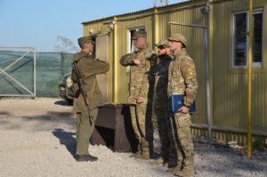Восьмий базовий курс бойової підготовки завершено. Рекрути отримали шеврони полку АЗОВ