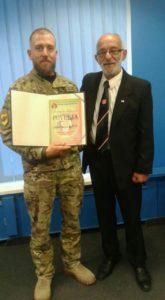 Полк АЗОВ став почесним членом асоціації ветеранів спецназу Хорватії