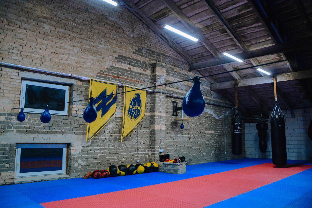 Відкриття нового спортивного залу на базі АЗОВу в Юр'ївці