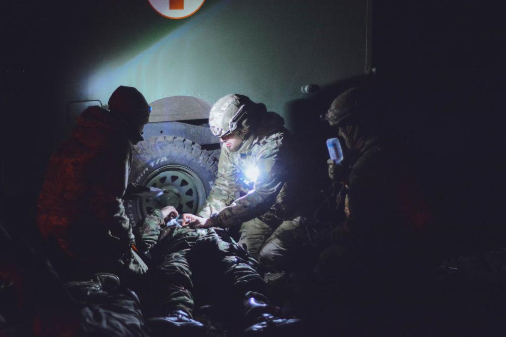 В полку АЗОВ був проведений медичний курс TCCC MP