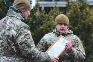 Нагородження бійців полку АЗОВ