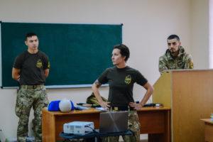 Азовці провели курси з тактичної медицини для працівників органів правопорядку
