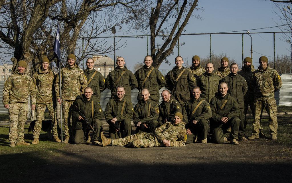 Закінчився ювілейний базовий курс бойової підготовки