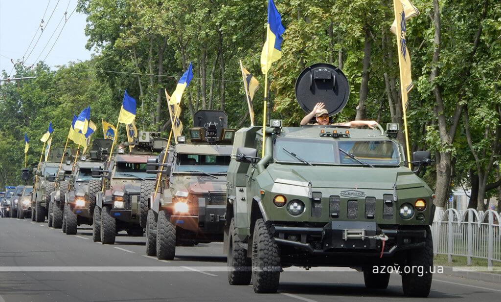 Автопробіг звільнення Маріуполя Азов