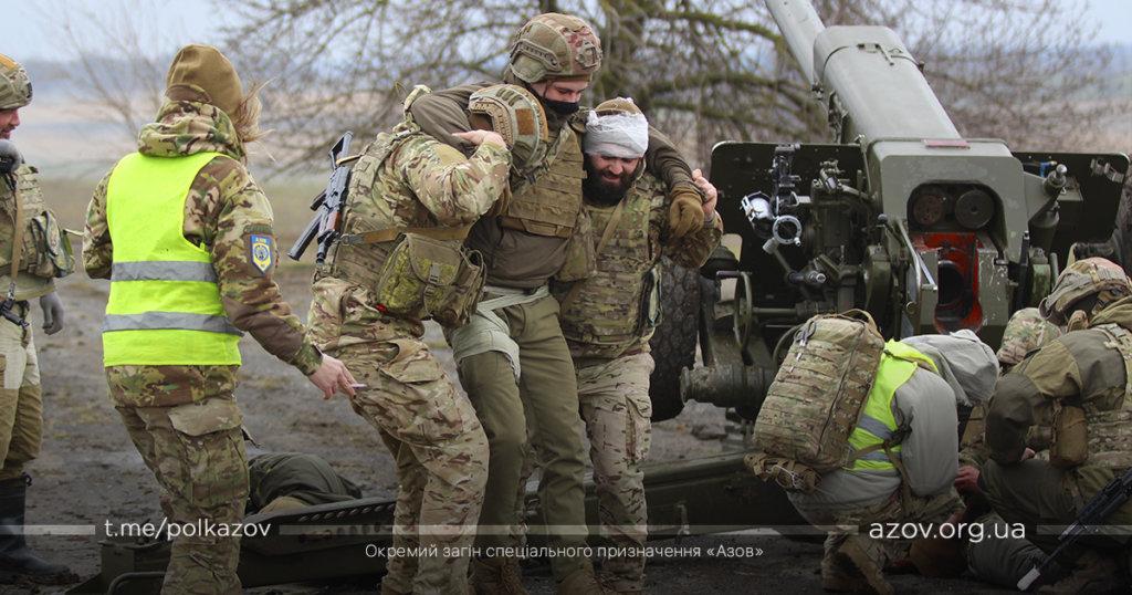 такмед медицина парамедик артилеристи ГАДн