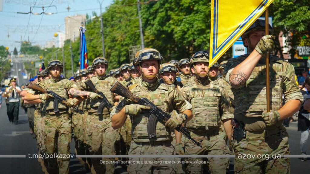Азов Маріуполь парад день звільнення