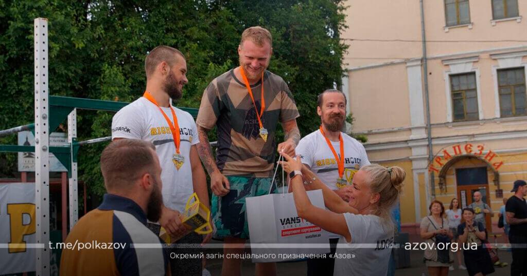 кросфіт Пістон турнір Азов