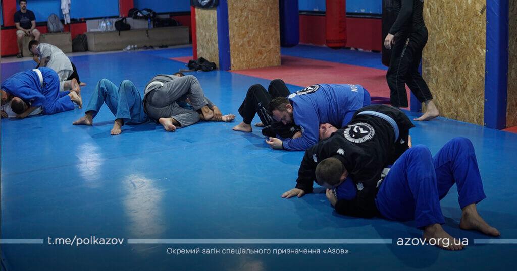джиу-джитсу семінар Азов